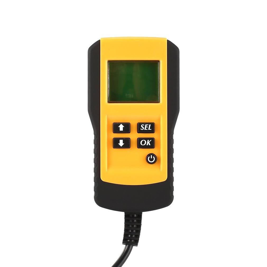AE300 12 V LCD numérique voiture batterie Auto système analyseur automobile véhicule batterie tension ohm testeur outil de Diagnostic