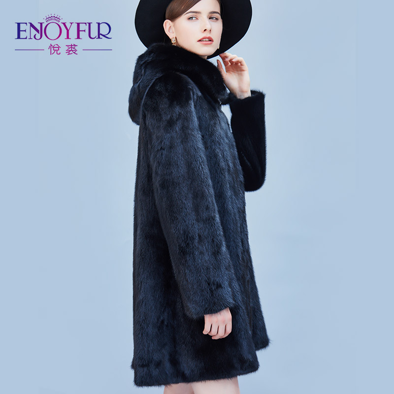 Aliexpress.com : Buy ENJOYFUR Women's Winter Genuine Mink Fur ...