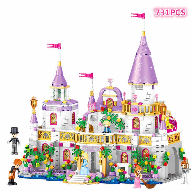 Meisjes Huis LegoINGlys Prinses Windsor Kasteel Bouwstenen Set Educatief Speelgoed voor Kinderen Meisje Gift Compatibel Vrienden 41148