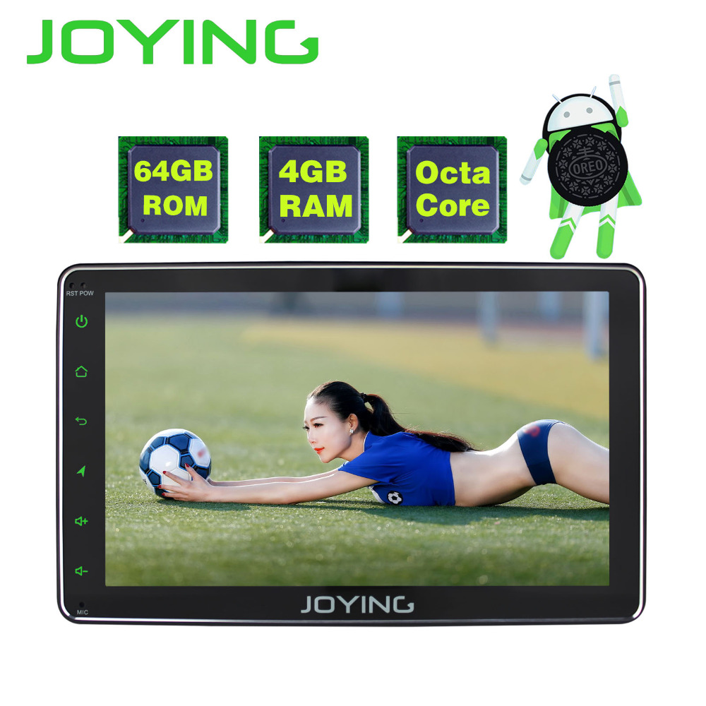 JOYING 2din Android Autoradio 8.0 4 gb + 64 gb 8 Core HD 8 ''lcd bluetooth tactile Pour toyota Corolla Camry Avensis Prius RAV4 Hilux