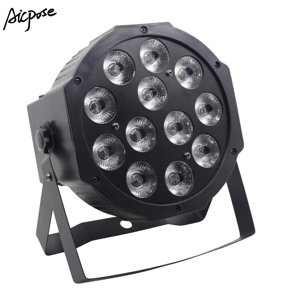 12x12W RGBW 4 In 1 Led Par Light  Or RGBWA UV 6 In 1 Effect Light Colorful Par Light With DMX Control Stage Lighting