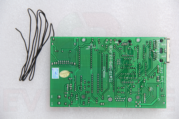 placa de mensagem de rolagem display led programavel p5 smd 03