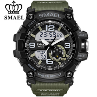 SMAEL Brand Men Sport Watch LED Digital Waterproof Casual Shock Male Clocks Relogios Masculino Men S