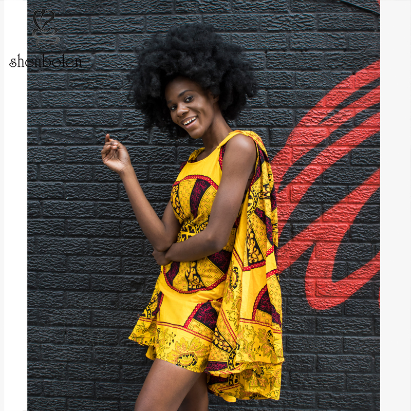 2016 herfst Afrikaanse jurken voor vrouwen ankara kleding wax - Traditionele kleding