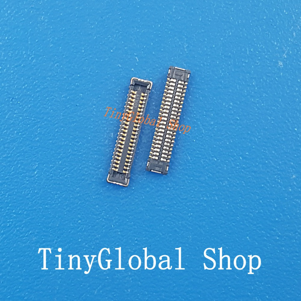 2pcs/lot Original LCD FPC display screen Connector Port plug on mainboard for ipad mini 4 mini4 top quality replacement