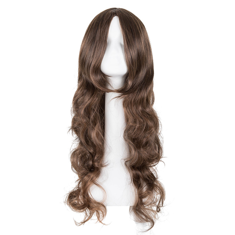 Synthetic None-lacewigs Hair Extensions & Wigs Hospitable Orange Wig Fei-show Synthetic Heat Resistant Fiber Short Wavy Hair Costume Cartoon Cos-play Ladies Hairpiece For Salon Party