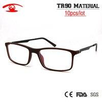 5pcslot Wholesale Optical Glasses Frame TR90 Full Rim Men Classic Style Brand Designer Eyeglasses Oculos