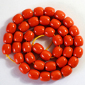 Orange red resin amber newly gems 9X9mm 10X10mm 12X12mm charms barrel loose beads diy jewelry making 15 inch B57