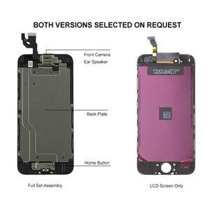 Image 4 - Komplette LCD Vollen Satz Montage für iphone 6 S Plus 6SP Display Screen für iphone 6 SPlus Ersatz mit Home Button + vorne Kamera