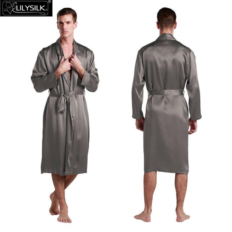 1000-dark-gray-22-momme-full-length-v-neck-silk-dressing-gown