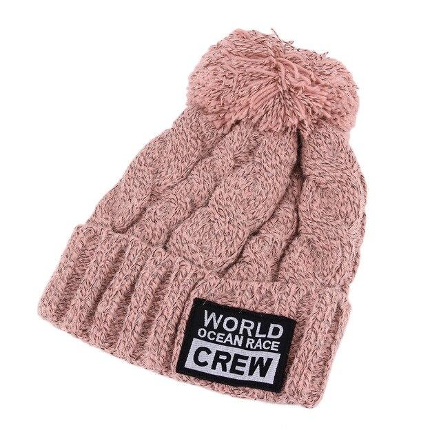 Tejer invierno mujeres Beanie sombreros con estilo lindo gorros para ...