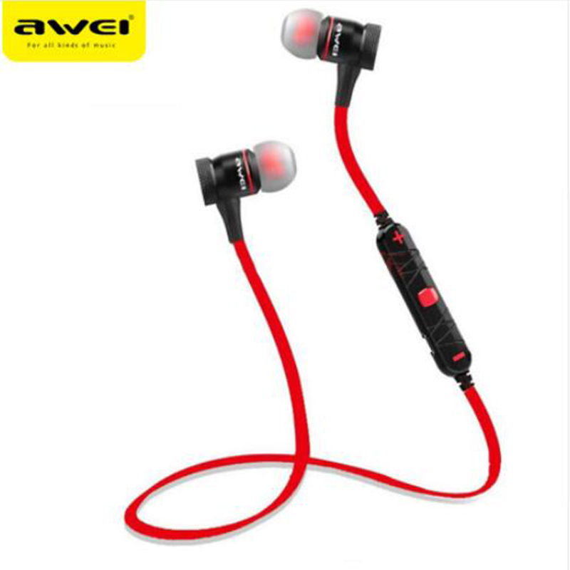 AWEI A920BLCSR4.1 Bluetooth Headset Wireless Earphone Sports with Microphone CVC6.0 Noise Reduction Stereo Sound Headphones