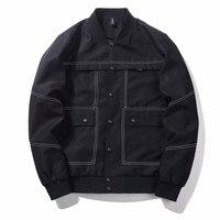2019 Autumn and winter New Pattern European Wind Jacket Coat Fashion More Pocket Street mens jackets fashionable parka