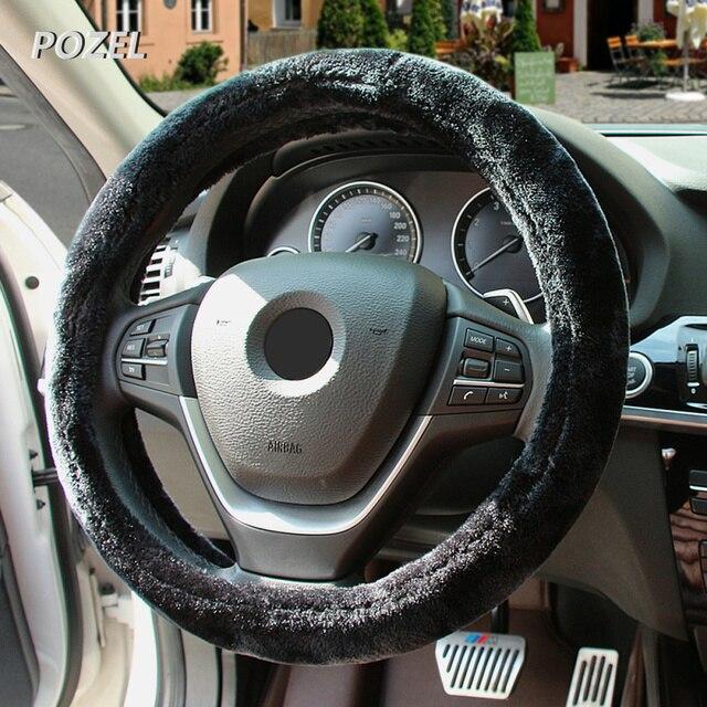 auto stuurhoes warm pluche universele interieur accessoires voor renault sceni c1 2 c3 modus duster logan
