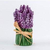 3d 라벤더 꽃다발 실리콘 금형 라벤더 촛불 금형 꽃 비누 만드는 금형 프로방스 꽃 금형 컨트리 스타