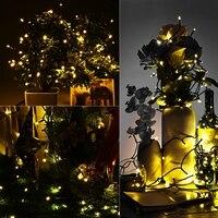 Solar String Lights 22M 200 LED 8 Modes IP64 Waterproof Outdoor Lights Christmas Lights Solar Powered