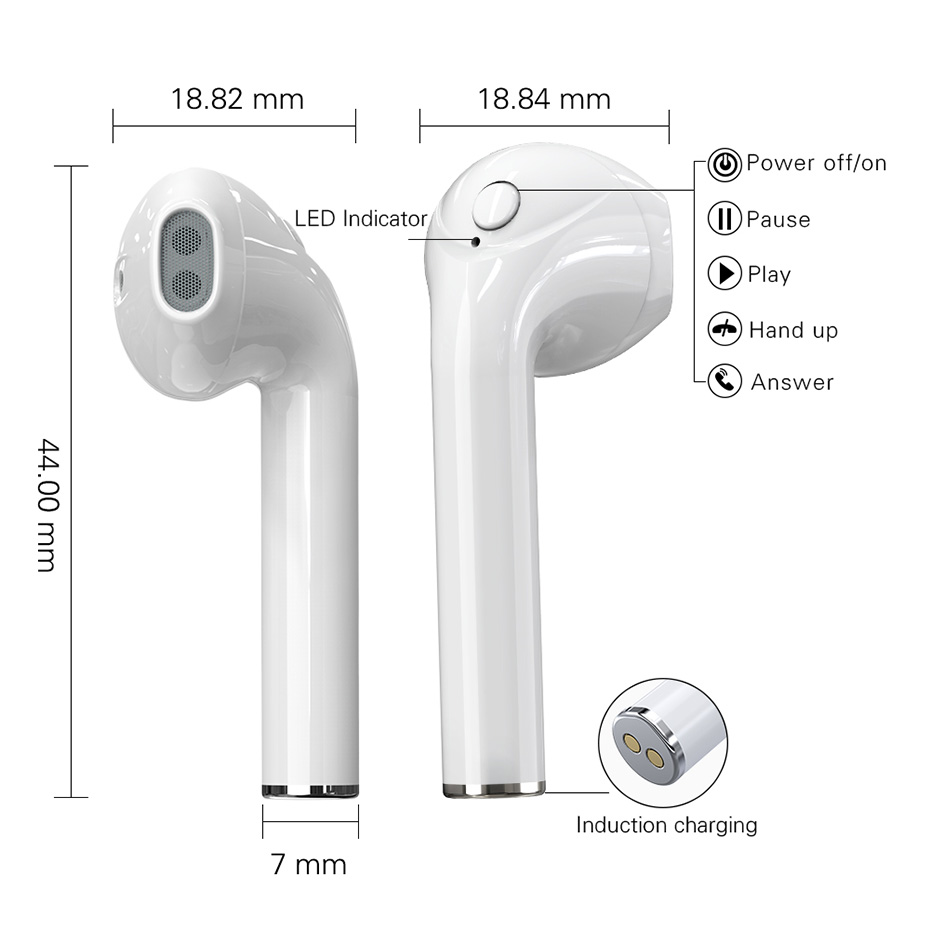 TWS bluetooth wireless earphone