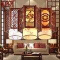 Китайский Ресторан прохода подвесные светильники лампа овчина антикварный горшок магазин отель коридор освещение отель lampLU620 ZL499