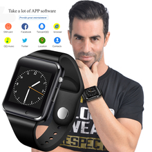 GONOKER Smart Watch Sport Wristwatch With Camera SIM Card Dial Call Sync SMS Touch Screen Smartwatch For Apple IOS Android