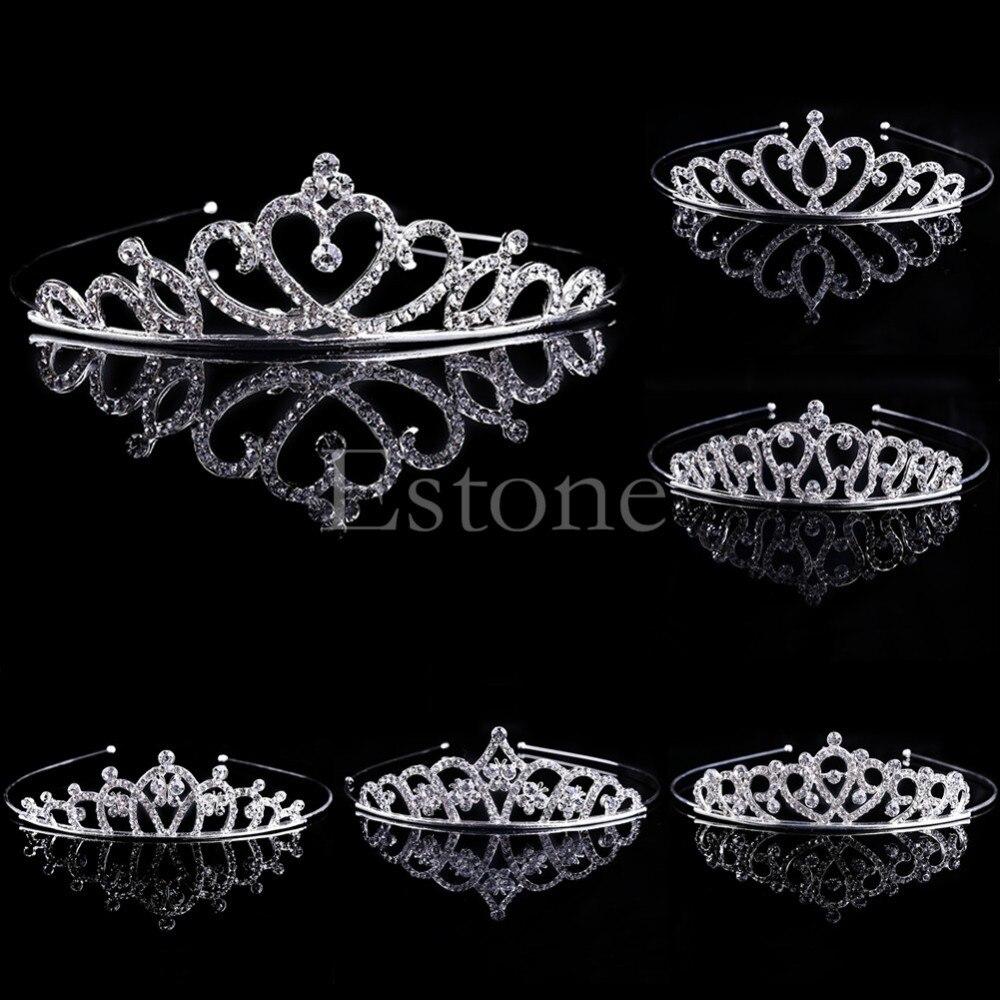 HTB1MPf6LpXXXXafXpXXq6xXFXXXW Bejeweled Princess Headband Tiara With Stunning Rhinestone Crystals - 6 Styles