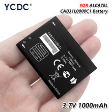 2019 Original Battery For Alcatel A383G VF555 OT-3040 TCL I808 T66 CAB31L0000C1 3.7V 1000mAh High Quality(China)