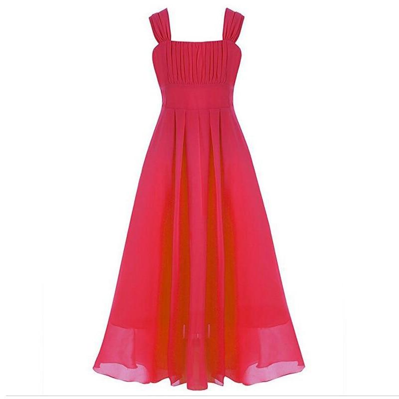 New Hot girls dresses children kids beautiful wedding party dresses girls formal party pageant long princess dresses