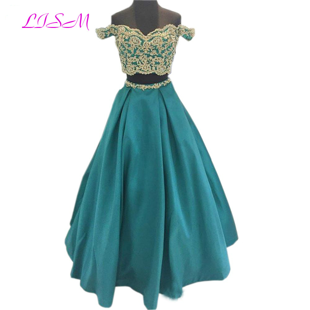 LISM Burgundy Off the Shoulder Lace Prom Dress for Girls Lovely Two Pieces Long Pageant Gowns