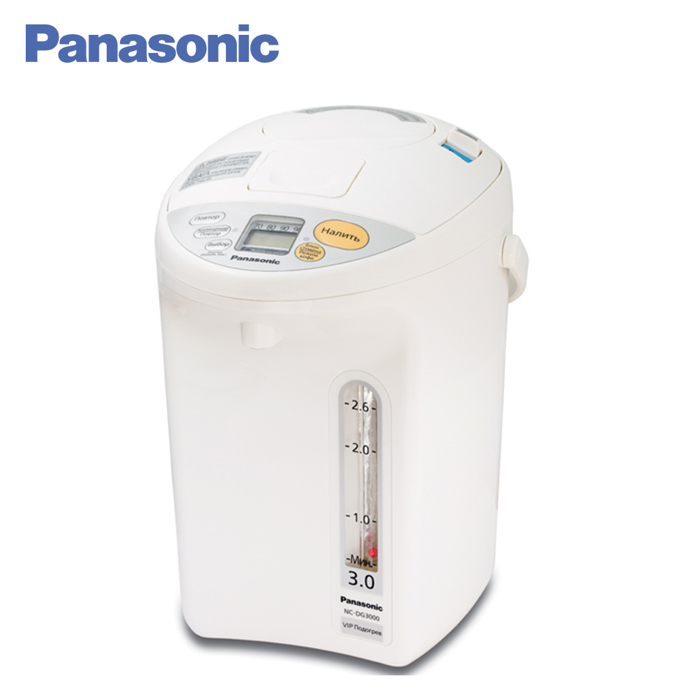 Panasonic Electric Air Pots NC-DG3000WTS kettle thermos glass pot kettle bank thermal t125 13a 110 250v nc terminal controller new kettle thermostat unused spare parts for electric kettle ek1709