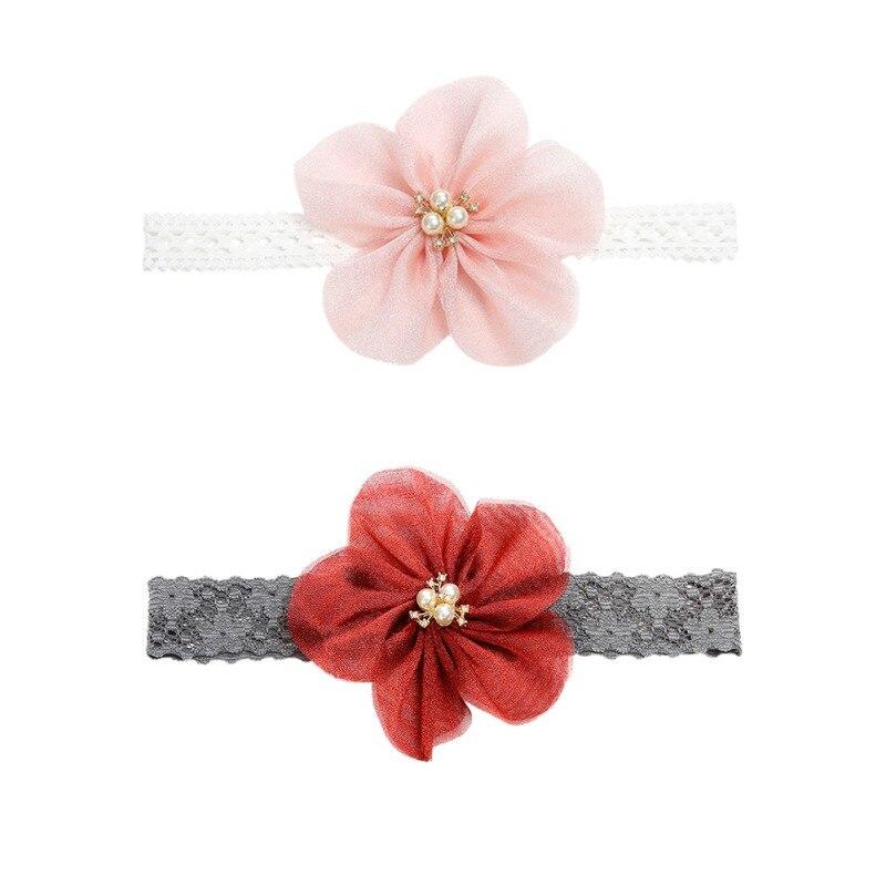 Baby Hair Accessories Flower Baby Turban Newborn Bow Hair Band Girls Baby Headband Children   Headwear