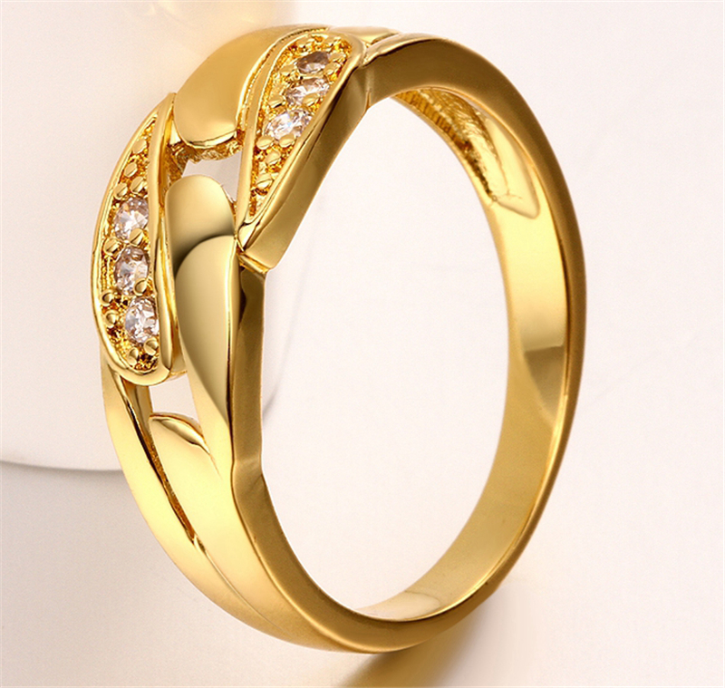 Unique Design Chain Mens Ring Stamp Plated 8MM Women Men Fashion