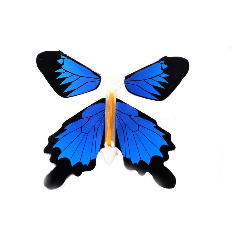 50 pcs/pack jouet magique Transformation mouche papillon accessoires tour de magie changer les mains drôle blague blague mystique plaisir jouet Surprise cadeau - 5