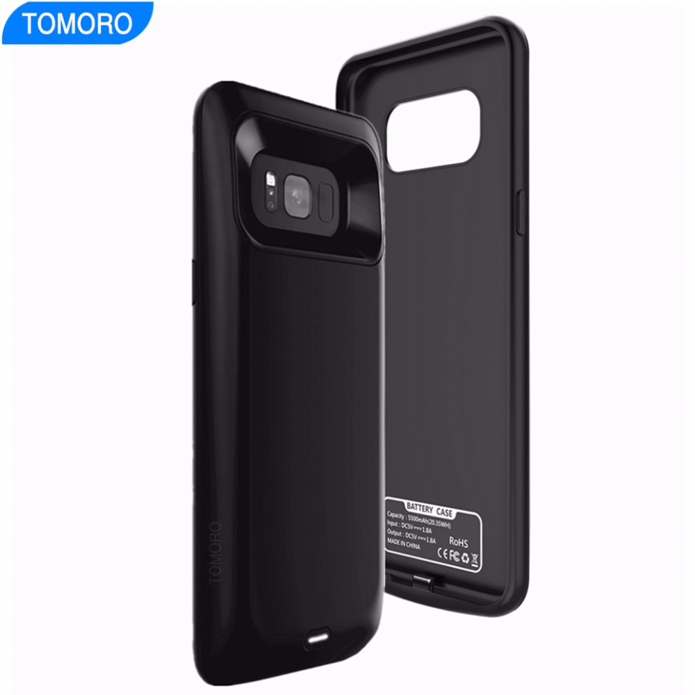 imágenes para Para Samsung S8 Plus Caja de Batería Cargador Para Samsung Galaxy Caja de Batería Recargable S8 S8plus Delgada Delgada de Carga Original de la Marca