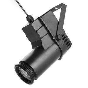 Image 5 - 15W RGBW iluminación LED para escenario Pinspot Beam Spotlight profesional DJ Fiesta DISCO KTV luz de fondo iluminación de escenario de 360 grados