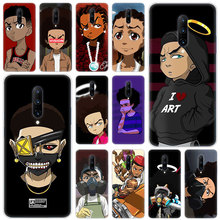 Hot Huey Freeman Boondocks Soft Silicone Fashion Transparent Case For OnePlus 7 Pro 5G 6 6T 5 5T 3 3T TPU Cover