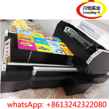 Flatbed UV printer with A3 300mm*600mm Size a3 size dtg flatbed printer printing machine a3 uv flatbed for t shirts phone case pvc card dark light color printing