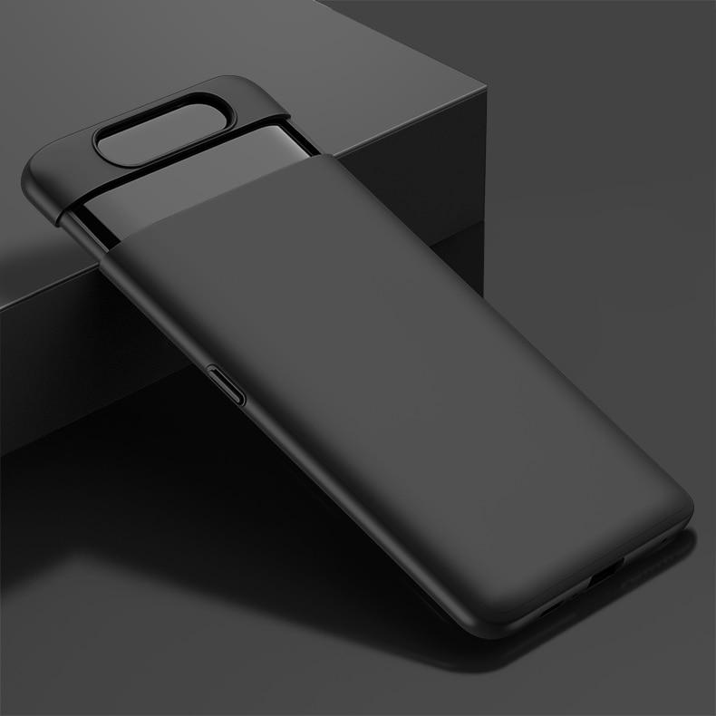 HTB1MPgJXL1H3KVjSZFBq6zSMXXaS For Samsung Galaxy A80 Case Hard Hybrid PC 360 Full Body Protective Back Cover for Samsung Galaxy A80 Phone Case Fundas Coque