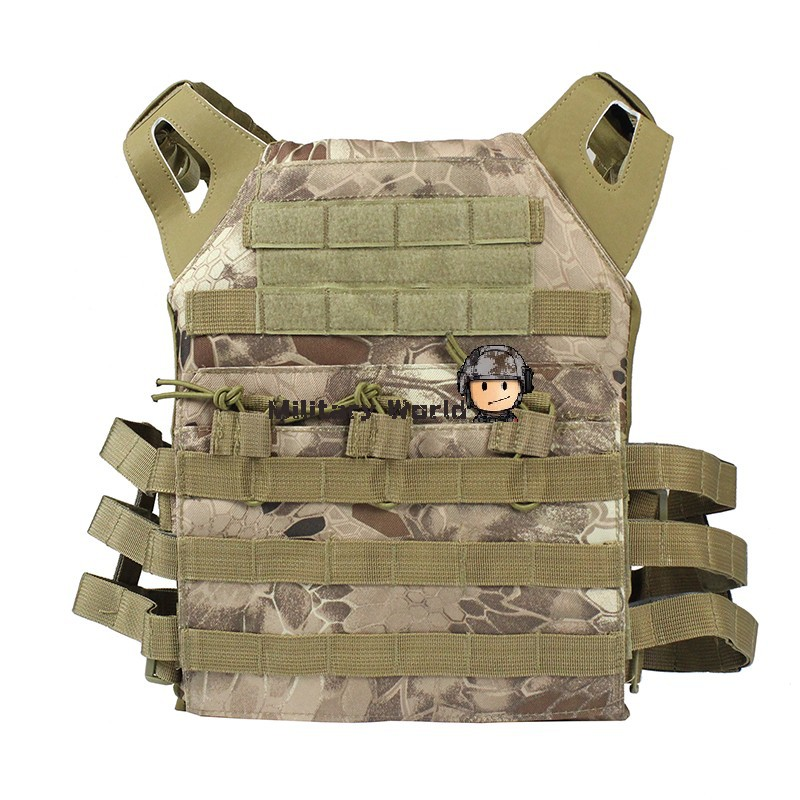 Hunting Combat 1000D Nylon JPC Tactical Vest Simplified Version Airsoft Paintball Protect Vest w/Plate For Men Army BANSHEE CAMO emerson 1000d molle jpc airsoft tactical vest simplified version outdoor training paintball hunting vest plate carrier em7344