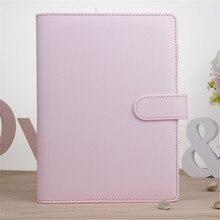 А5 Еженедельный ежедневник классический вкладыш-кольцо-переплет блокнот обложка, розовый