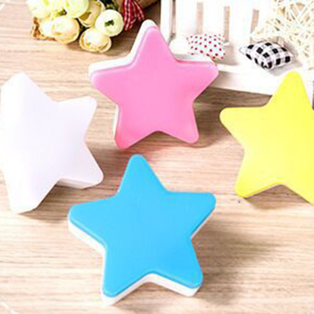 Light Sensor Control Cartoon Star LED Night Light for Dark Night Children Bedroom Bedside Lamp Baby Sleeping Light in LED Night Lights from Lights Lighting