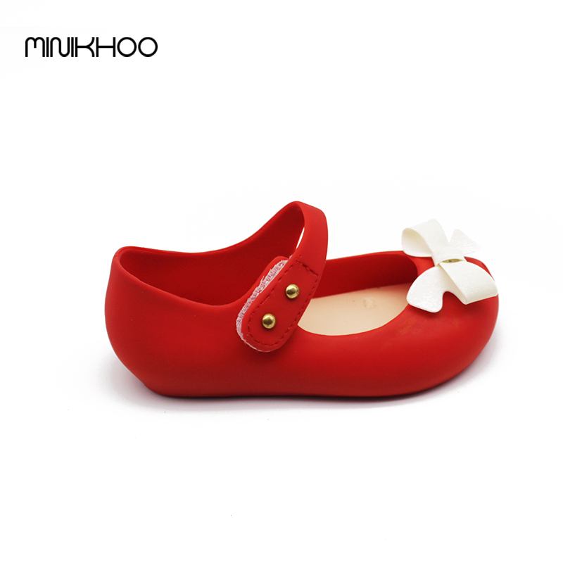 Mini-Melissa-Bow-Children-Shoes-Jelly-Shoes-Soft-Girls-Sandals-Bottom-Girls-Melissa-Princess-Shoes-Girls-Baby-Girl-Sandals-4