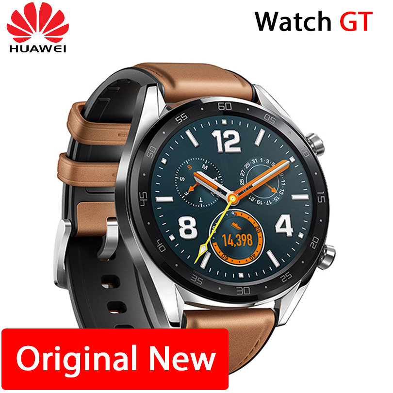 Huawei Watch GT Smart watch Support GPS NFC 14 Days Battery Life 5 ATM water proof