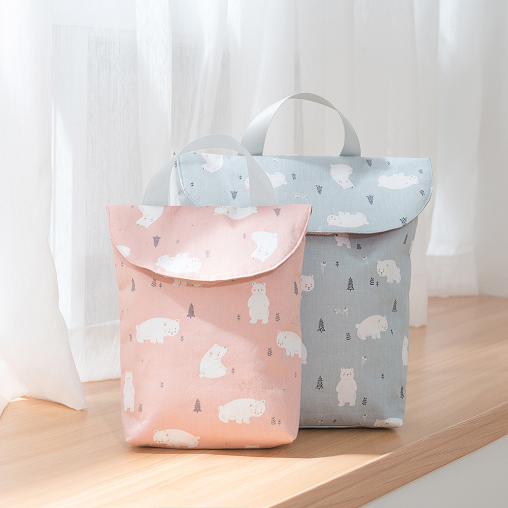 HTB1MPhNbv1H3KVjSZFBq6zSMXXa2 Hot Sale Baby Newborn Mini Waterproof Wet Dry Mom Bag for Baby Infant Cloth Diaper Nappy Pouch Reusable travel outdoor