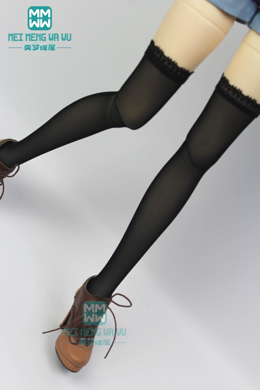 BJD Accessories Fashion Black Mesh Long Stockings For 27-60cm 1/3 BJD DD SD Doll Clothes
