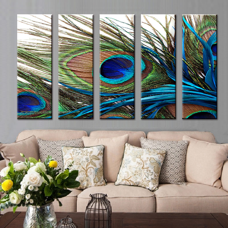 Modern Wall Art Blue