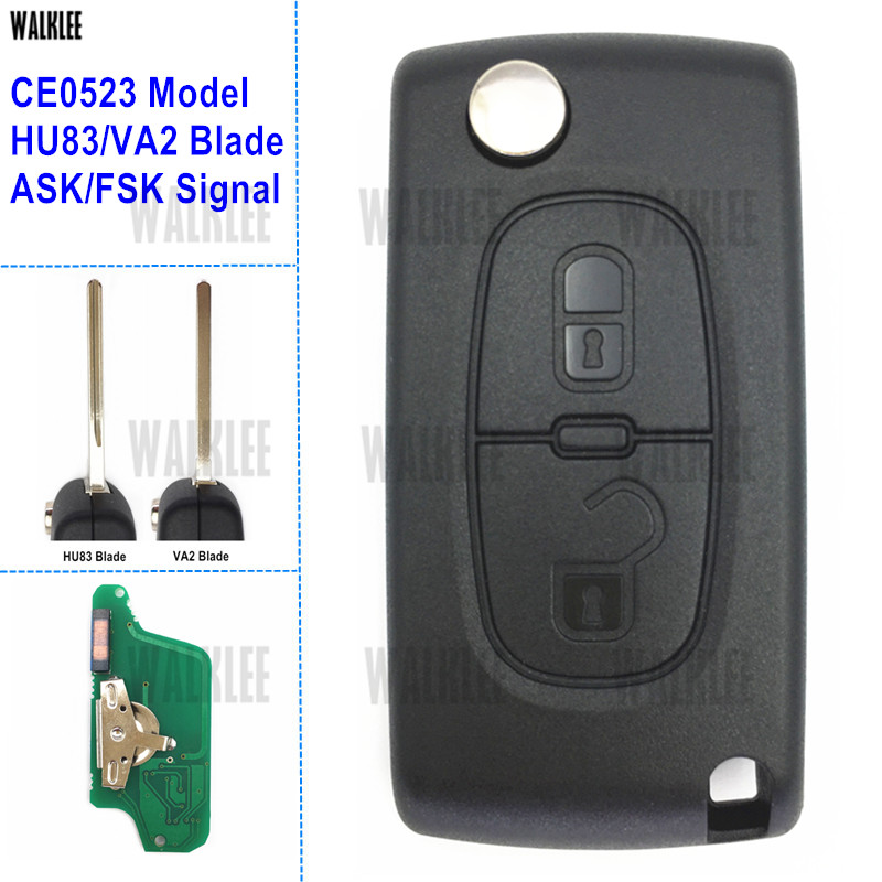 Cylinder anti-corrosion Door lock 1 key for Peugeot 307