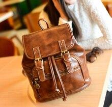 Мешок снова девочка компактный винтажный рюкзак дети компактный рюкзак леди свободного покроя путешествие рюкзак женщины мешок