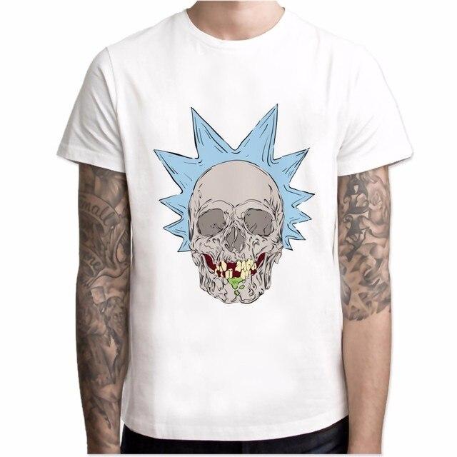 Rick and Morty New Anime Comic T-shirt  1