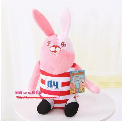 Игрушек! Супер милая плюшевая игрушка мультяшная Мягкая кукла усавич тюрьма кролик мягкая игрушка подарок на день рождения Рождество 1 шт - Цвет: Красный