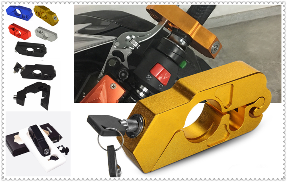 Motorcycle Modified Brake Horn Fixed Lock Handle Burglar For YAMAHA FZ-09 MT-09 SR FZ6 FAZER FZ6R FZ8 MT-07 FZ-07
