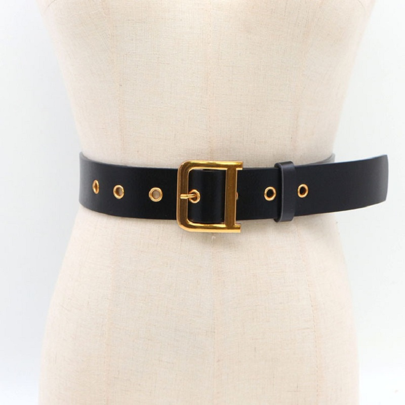 Fashion D Buckle Genuine Leather Belt For Women High Quality Cowhide Wide Waist Belts Corset Jeans Waistband For Coat Heren Riem